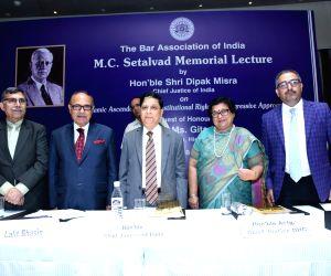 M.C. Setalvad Memorial Lecture - Deepak Mishra