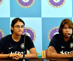 Indian women cricketers press conference