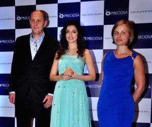 Press conference of jewellery brand Preciosa