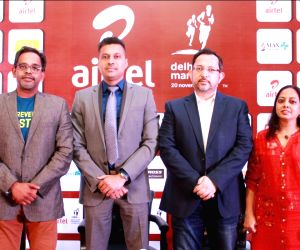 Airtel Delhi Half Marathon 2016 - press conference