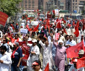 PAKISTAN LAHORE LABOR DAY MARCH