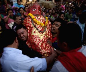 NEPAL-LALITPUR-RATO MACHHINDRANATH FESTIVAL