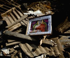 NEPAL LALITPUR EARTHQUAKE AFTERMATH