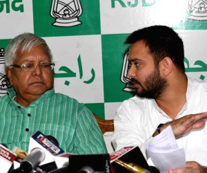Lalu's son Tejashwi trying to secure his own place under the sun