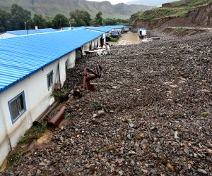 CHINA GANSU SUNAN COUNTY LANDSLIDE