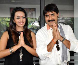 Hyderabad: Launch of Telugu film Jalsa Raidu