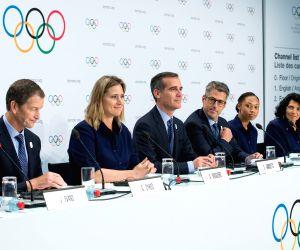 SWITZERLAND LAUSANNE IOC PRESENTATION