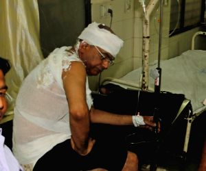 Lawyer Kishore Agrawal who set himself ablaze inside the Gujarat High Court premises and rushed towards the court of the chief justice being treated at an Ahmedabad hospital on March 21, ...