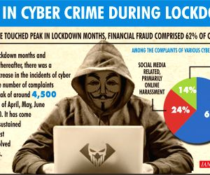Led by financial fraud, cyber crime touched peak in lockdown months