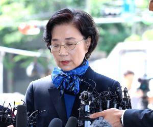 Wife summoned in Korean Air probe