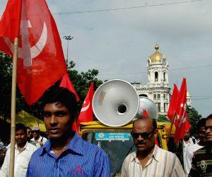 Left Front demonstration