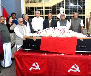 CPI-M ledaers pay tributes to Khagen Das