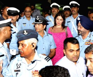 Sachin: A Billion Dreams' special screening for Air Force