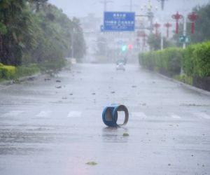 CHINA TYPHOON MARIA LANDFALL