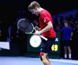 FRANCE-LILLE-TENNIS-DAVIS CUP-FINAL-DAY ONE