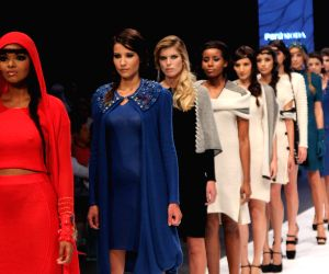 Inauguration of the Peru Fashion Fair and Peru Gift Show 2014 in Magdalena