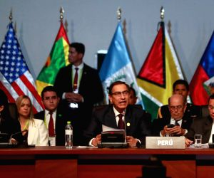 PERU-LIMA-SUMMIT OF THE AMERICANS-FIGHTING CORRUPTION