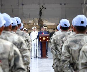 PERU LIMA UN MILITARY MISSION