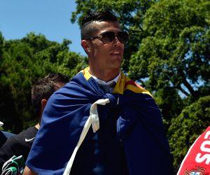 PORTUGAL LISBON EURO 2016 CELEBRATION