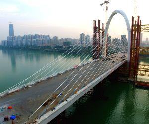 CHINA GUANGXI LIUZHOU BAISHA BRIDGE MAIN STRUCTURE