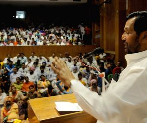 Ramvilas Paswan during a BJP programme