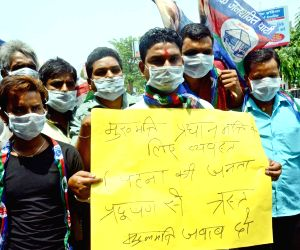 LJP demonstration against rising pollution