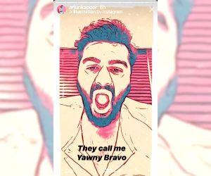Lockdown diaries: Arjun Kapoor in and as 'Yawny Bravo' in new video