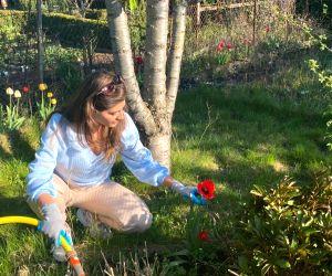 Free Photo: Lockdown diaries: Elnaaz Norouzi picks up new hobby in Germany