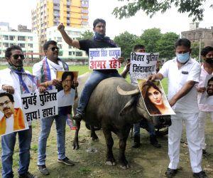 LJP protests against Mumbai Police over Sushant Singh Rajput death case