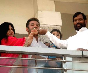 Chirag Paswan birthday celebration