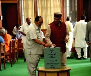 Vice presidential election- Virender Kashyap