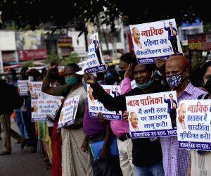 Lok Tantrik Jan Pahal activists express solidarity with Prashant Bhushan