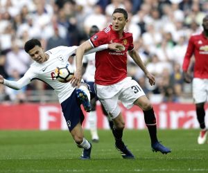 BRITAIN-LONDON-SOCCER-FA CUP-MANCHESTER UNITED VS TOTTENHAM HOTSPUR