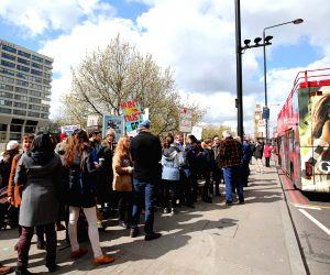 BRITAIN-LONDON-JUNIOR DOCTORS' STRIKE