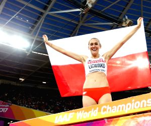 BRITAIN LONDON ATHLETICS IAAF WORLD CHAMPIONSHIPS DAY 9