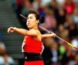 China's Lyu breaks women's javelin Asian record