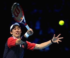 London (Britain): ATP World Tour Finals Group match - Switzerland v/s Japan