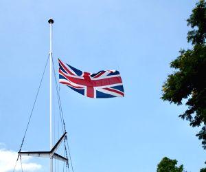 Union Jack at half mast at British mission to honour Vajpayee