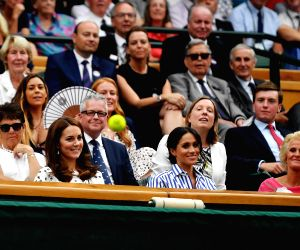 BRITAIN LONDON TENNIS WIMBLEDON CHAMPIONSHIPS 2018 DAY 12