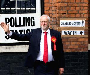 BRITAIN LONDON GENERAL ELECTION JEREMY CORBYN