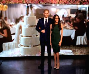 BRITAIN LONDON WAX FIGURE MEGHAN MARKLE
