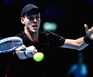 London (Britain): ATP World Tour Finals Group match