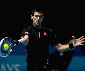 London (UK): ATP World Tour Finals semifinal match - Japan v/s Serbia