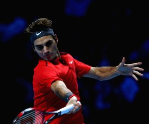 London (UK): ATP World Tour Finals semifinal match - Roger Federer v/s Stan Wawrinka