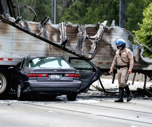 U.S. LOS ANGELES ACCIDENT