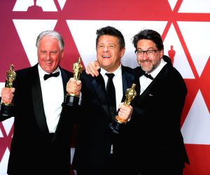 U.S.-LOS ANGELES-OSCARS-BEST SOUND MIXING