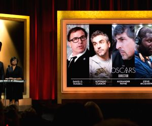 Actor Chris Hemsworth (L) and Academy of Motion Picture Arts and Sciences President Cheryl Boone Isaacs announce the nominees for Best Director at the 86th ...