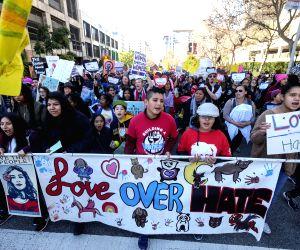 U.S.-LOS ANGELES-WOMEN'S MARCH