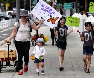 U.S. LOS ANGELES PROTEST FAMILY SEPARATION