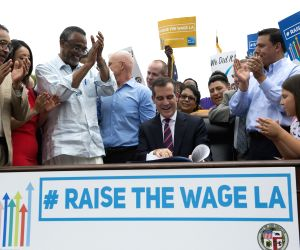 U.S. LOS ANGELES MINIMUM WAGE ORDINANCE